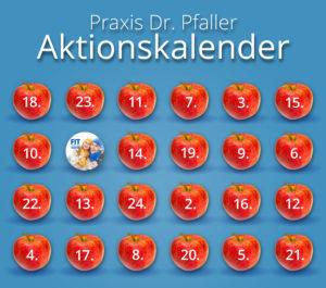 Praxis Dr. Pfaller Aktionskalender