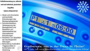 Dr. Pfaller Kryotherapie