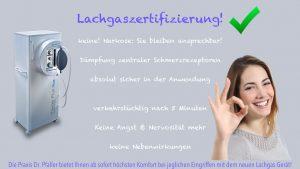 Dr Pfaller Lachgaszertifizierung