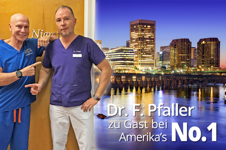 Dr. F. Pfaller in Richmond Virginia