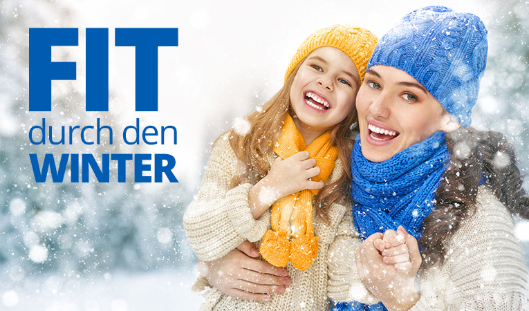 Fit durch den Winter Vorsorge-Paket