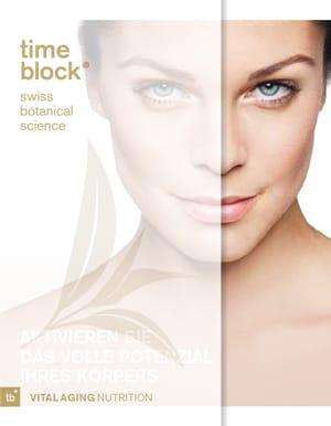 time block® Anti-Aging Produktbroschüre